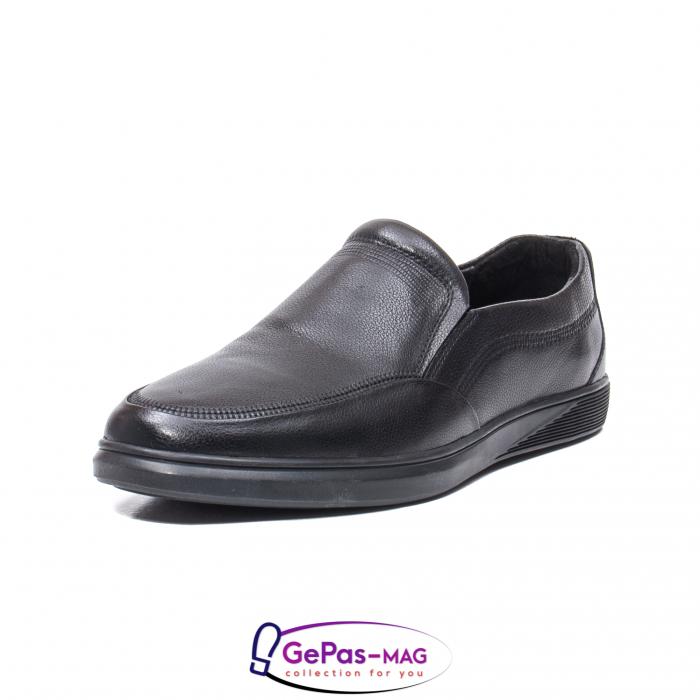 Pantofi barbati mocasin, piele naturala, QRB017313 [0]