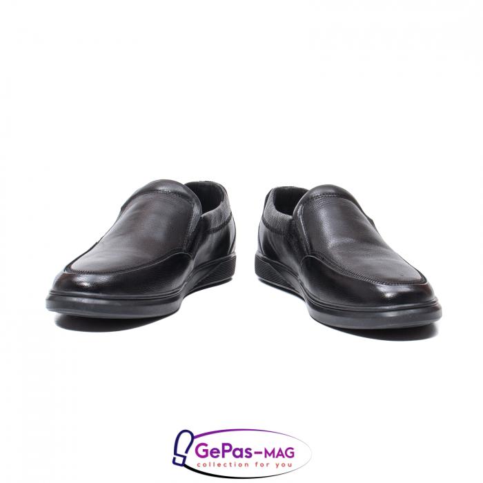 Pantofi barbati mocasin, piele naturala, QRB017313 [6]