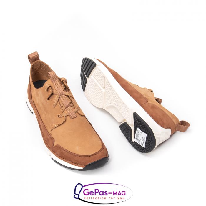 Pantofi casual barbat Tri Solar CL26152316, piele naturala nubuc 2