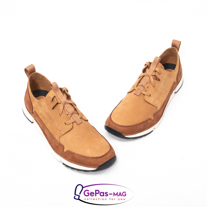Pantofi casual barbat Tri Solar CL26152316, piele naturala nubuc 1