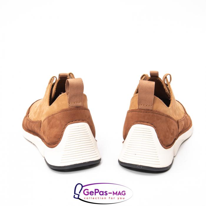 Pantofi casual barbat Tri Solar CL26152316, piele naturala nubuc 5