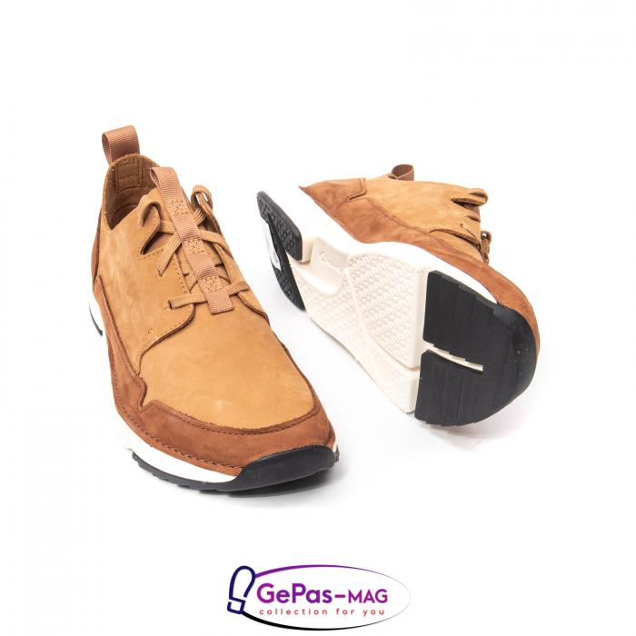 Pantofi casual barbat Tri Solar CL26152316, piele naturala nubuc 4