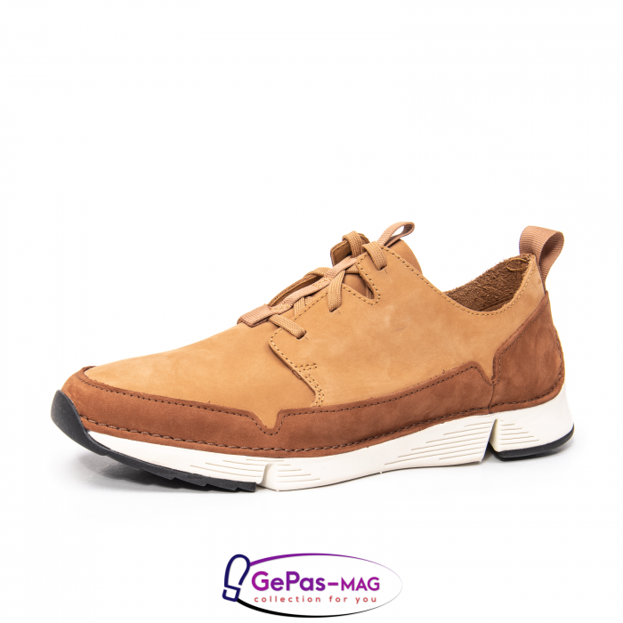 Pantofi casual barbat Tri Solar CL26152316, piele naturala nubuc 0