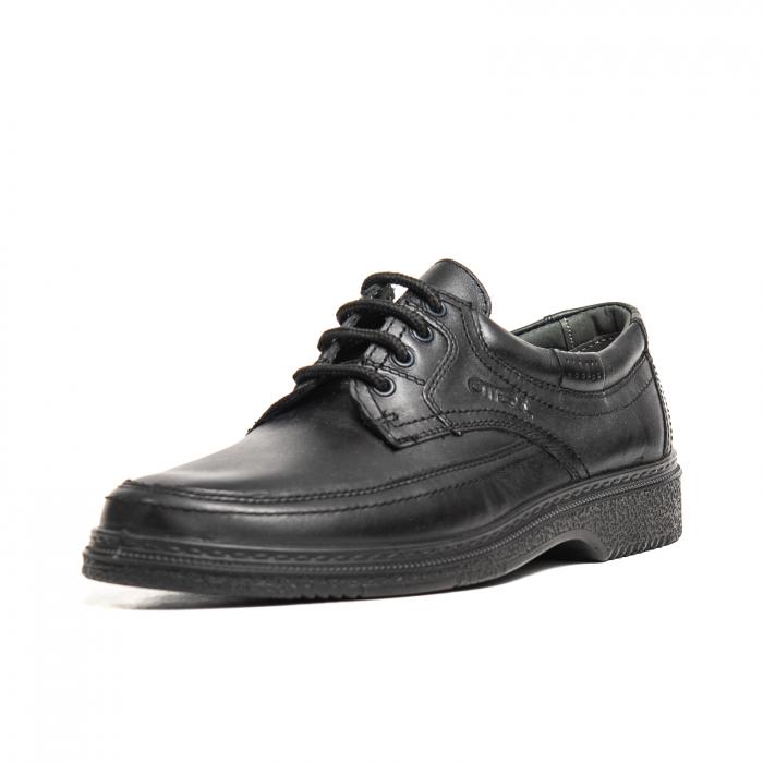 Pantofi casual barbati, piele naturala, OT27814 01-N [0]