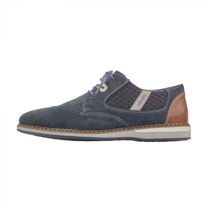 Pantofi barbati casual, piele naturala, RIK 16826-14 5