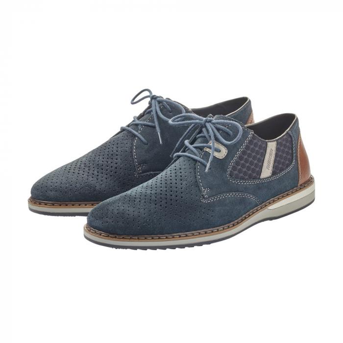 Pantofi barbati casual, piele naturala, RIK 16826-14 6