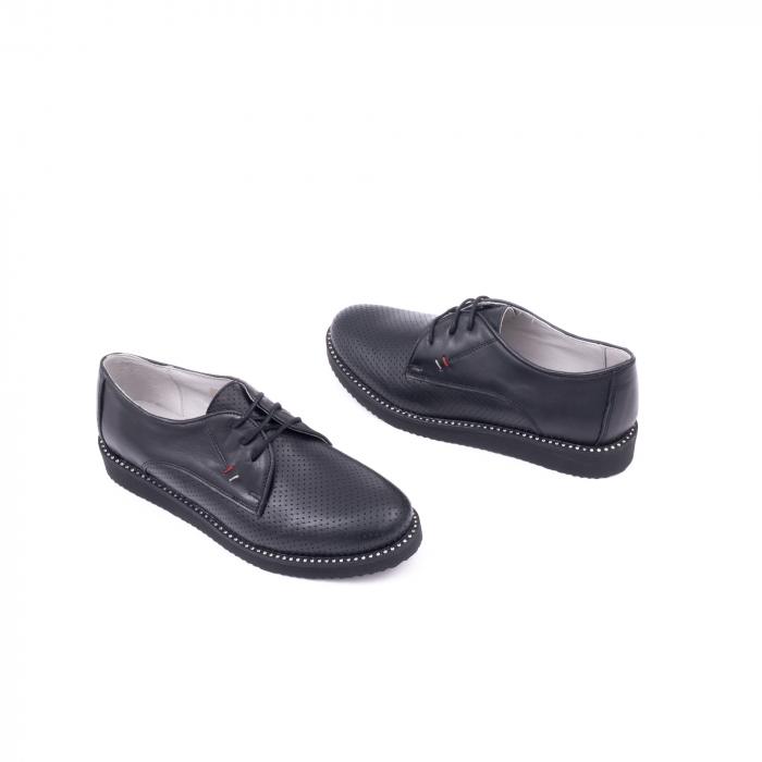Pantofi casual dama 171610 negru 2