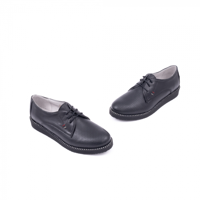 Pantofi casual dama 171610 negru 1
