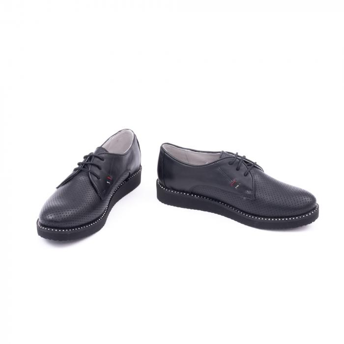 Pantofi casual dama 171610 negru 4