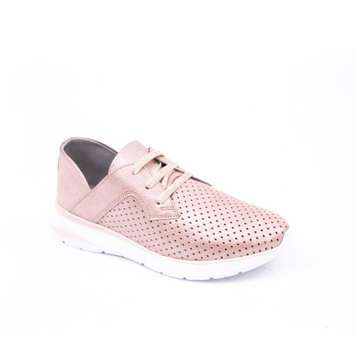 Pantofi casual dama 191647 pudra 0