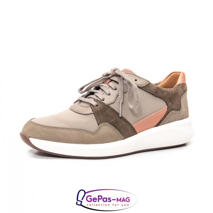 Pantofi casual dama confort Un Rio Run CL2615733 0