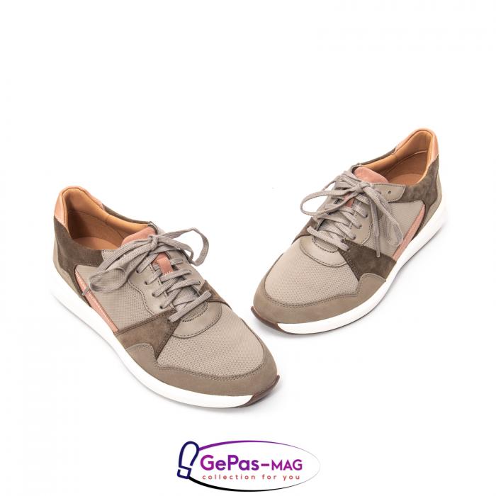 Pantofi casual dama confort Un Rio Run CL2615733 1