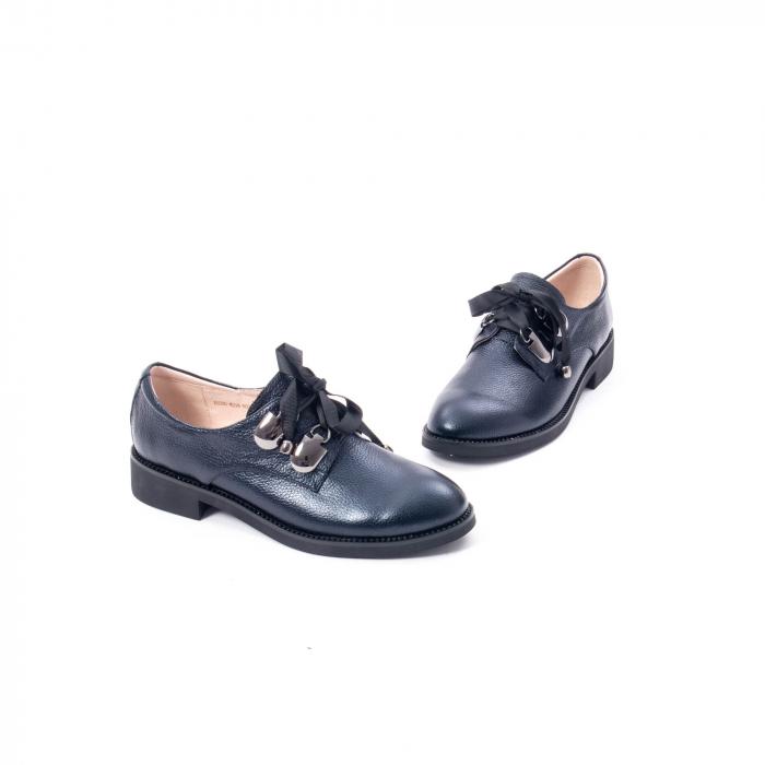 Pantofi casual dama din piele naturala, bleumarin, Epica jixs320- 42-N 1