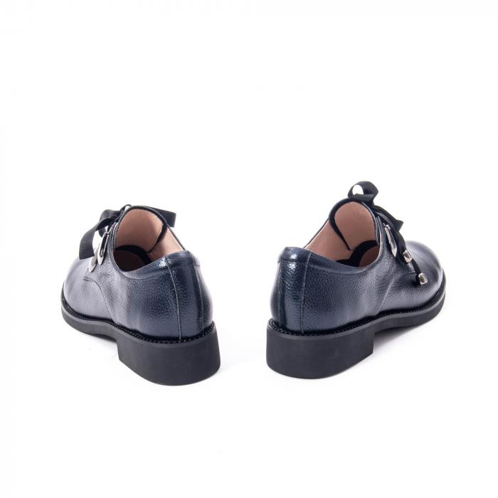 Pantofi casual dama din piele naturala, bleumarin, Epica jixs320- 42-N 6