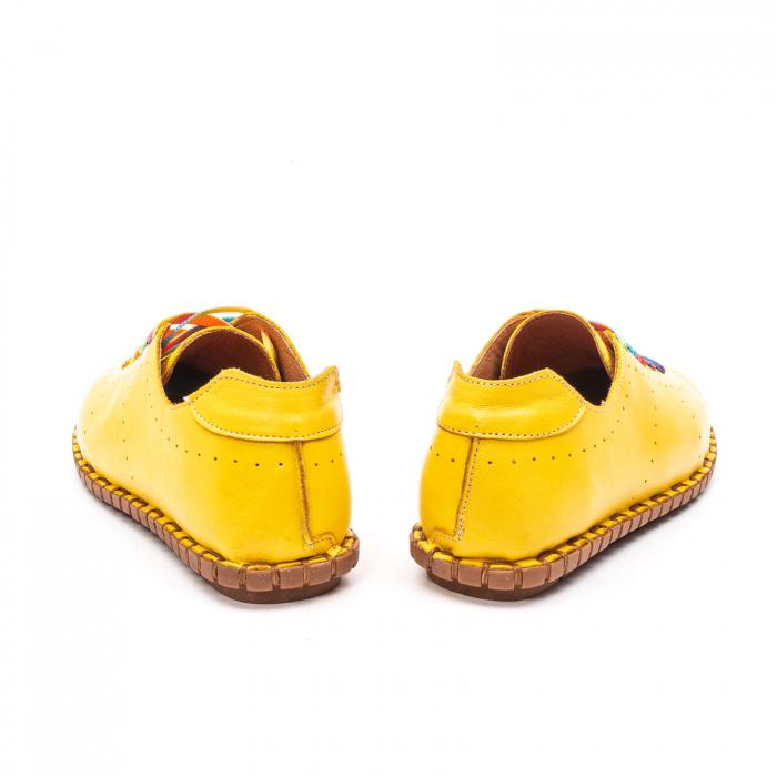 Pantofi dama casual din piele naturala, E2H19Y2902 08-N 6