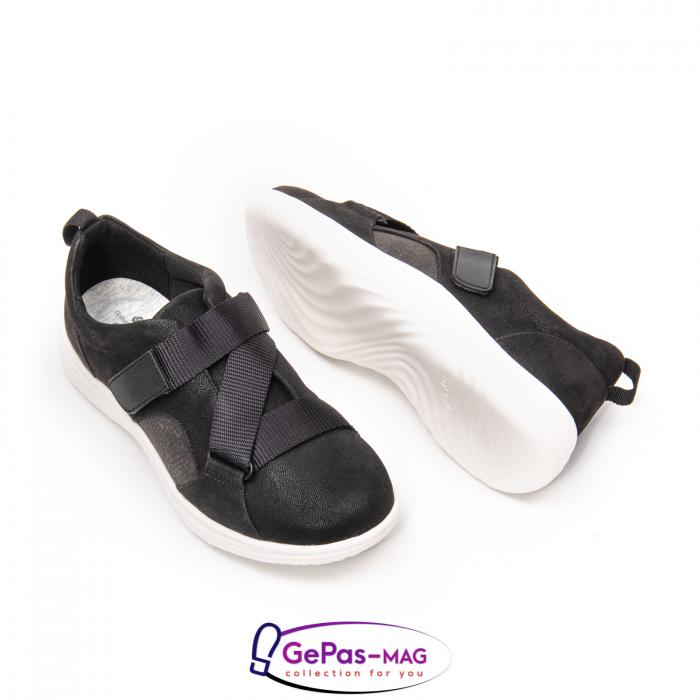 Pantofi casual dama din material textil Lulu Go CL261 2