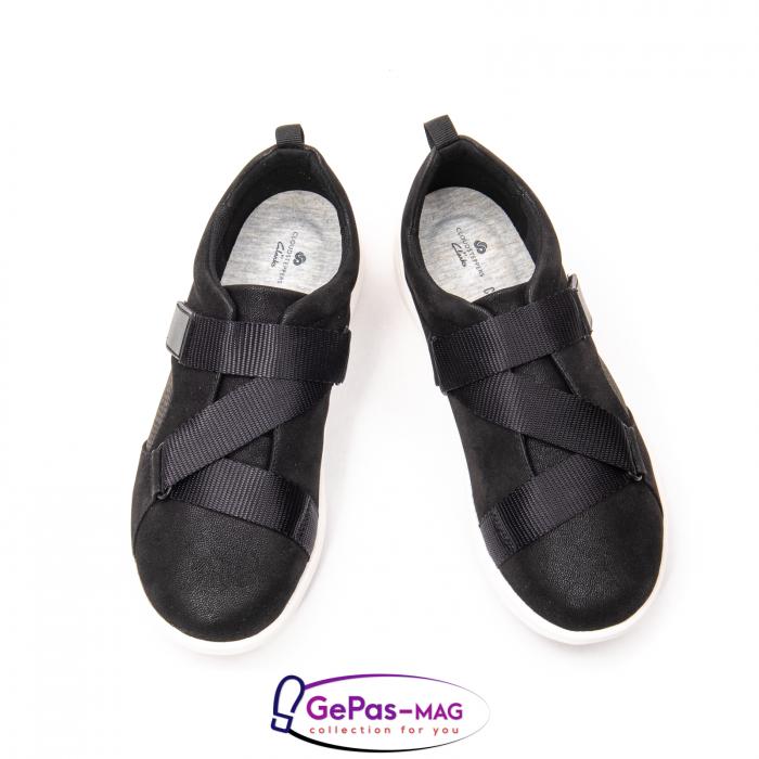 Pantofi casual dama din material textil Lulu Go CL261 3