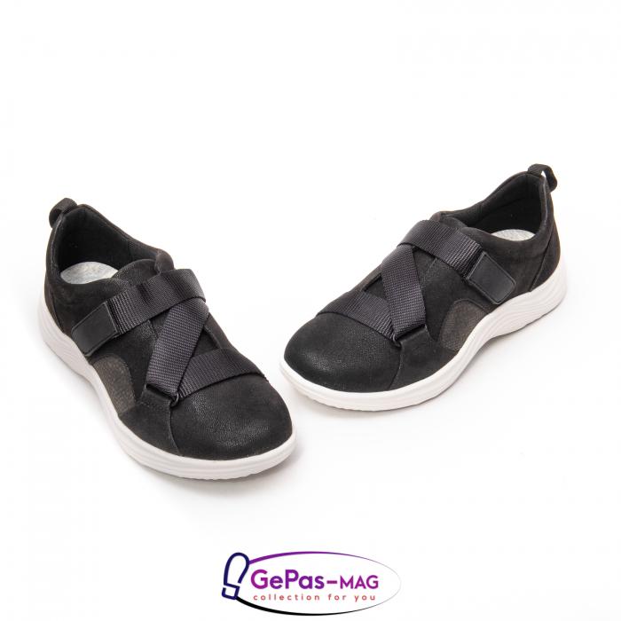 Pantofi casual dama din material textil Lulu Go CL261 1