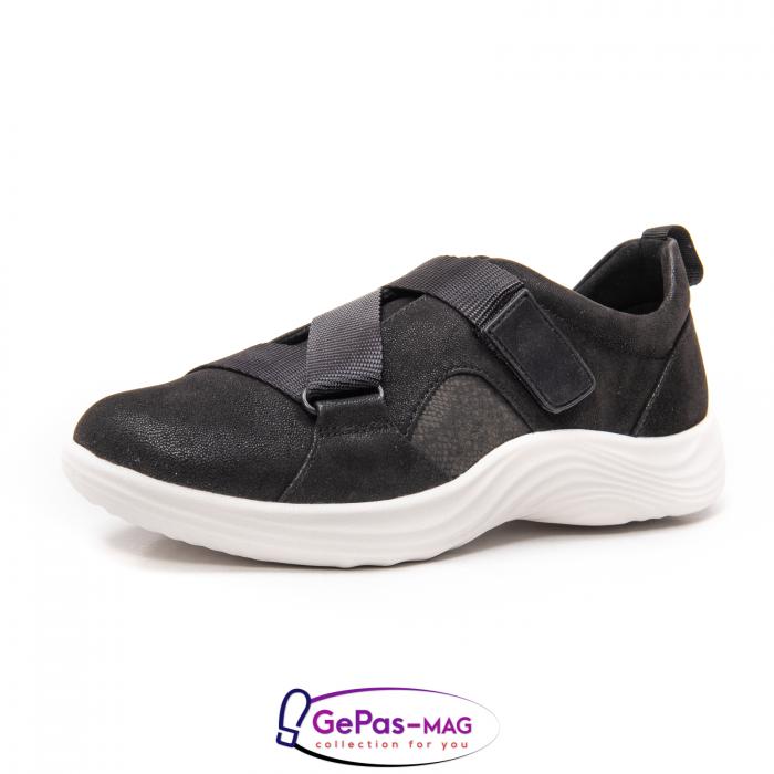 Pantofi casual dama din material textil Lulu Go CL261 0