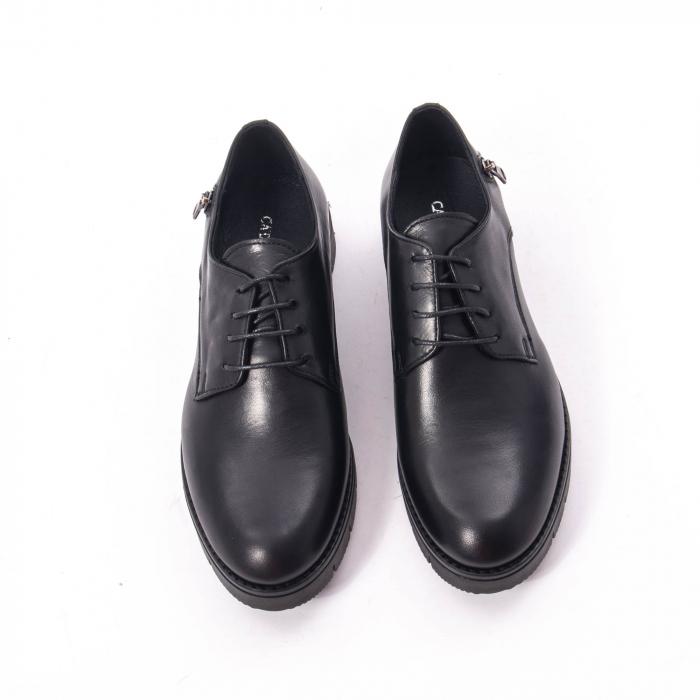 Pantofi casual dama, piele naturala Catali 162602 negru 5