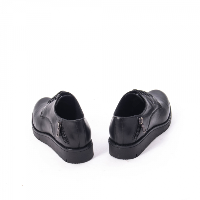 Pantofi casual dama, piele naturala Catali 162602 negru 6