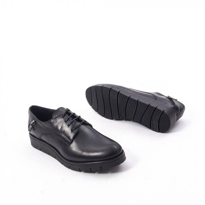 Pantofi casual dama, piele naturala Catali 162602 negru 3