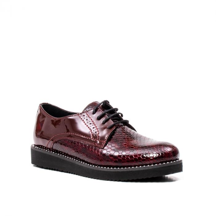 Pantofi casual dama, piele naturala, 172614 B 0
