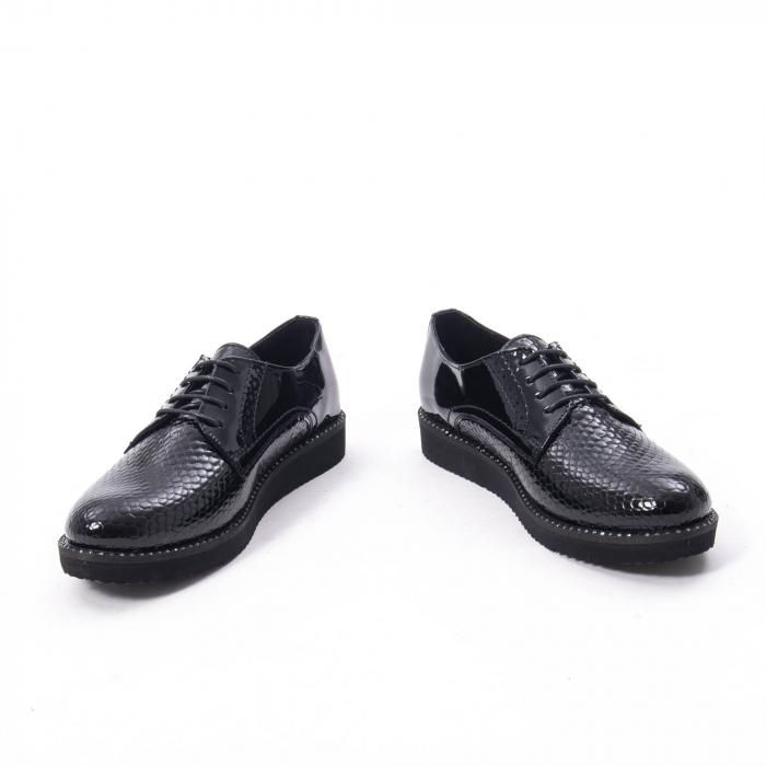 Pantofi casual dama, piele naturala, Catali 172614 N 4