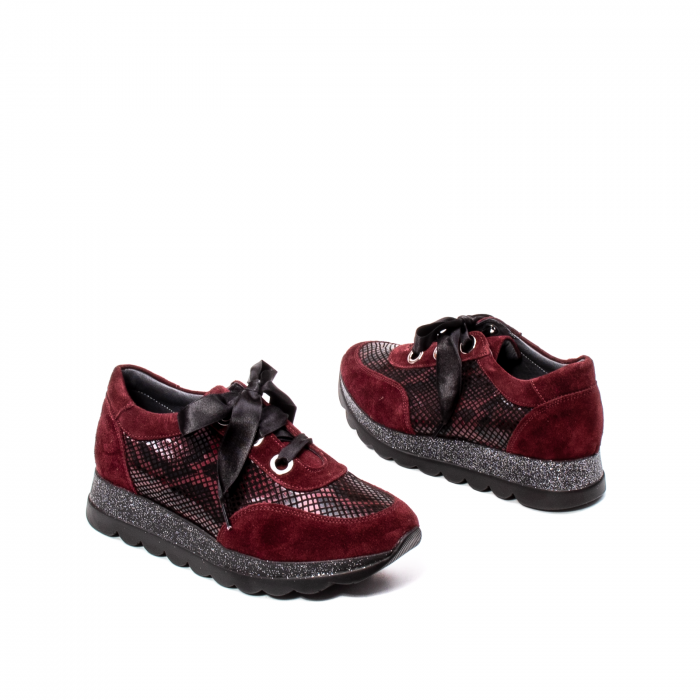 Pantofi casual dama, piele naturala, 202679SP/CRO [2]