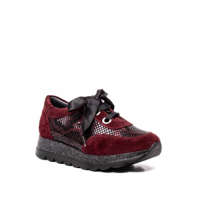 Pantofi casual dama, piele naturala, 202679SP/CRO [0]