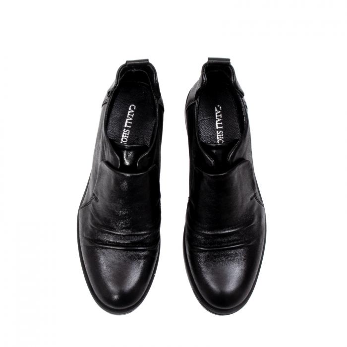 Pantofi casual dama, piele naturala, 202688 N 5