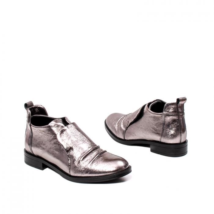 Pantofi casual dama, piele naturala, 202688 HOR 2