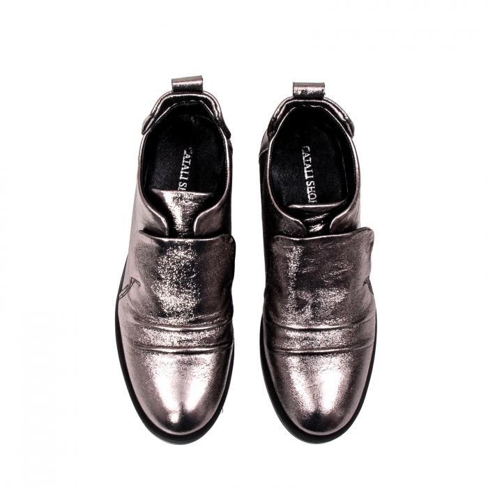Pantofi casual dama, piele naturala, 202688 HOR 5