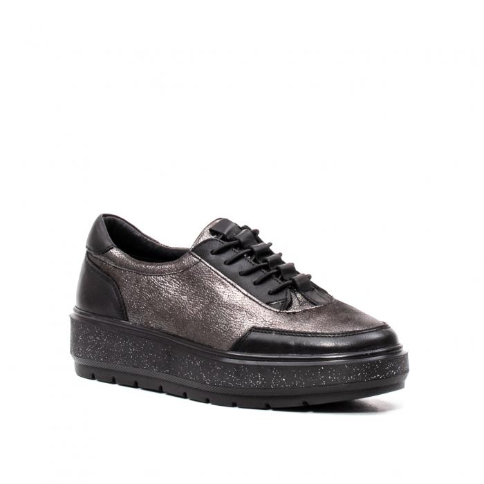 Pantofi casual dama, piele naturala, 202689 0