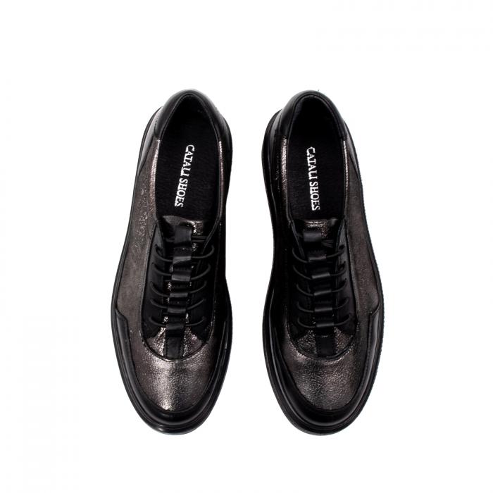 Pantofi casual dama, piele naturala, 202689 5