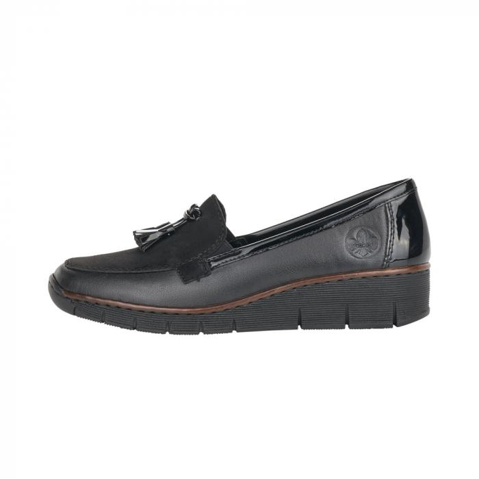 Pantofi casual dama, piele naturala, 53771-00 1