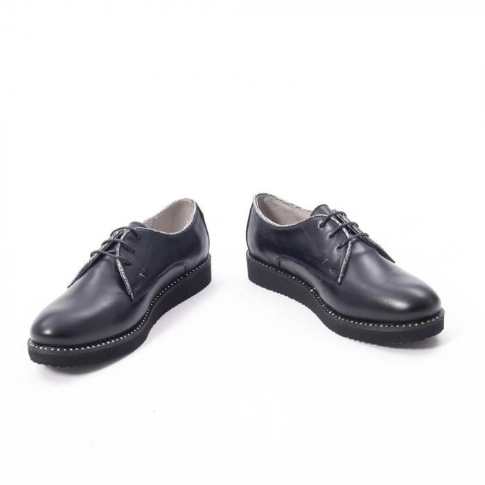 Pantofi casual dama, piele naturala Catali 171610 negru 4