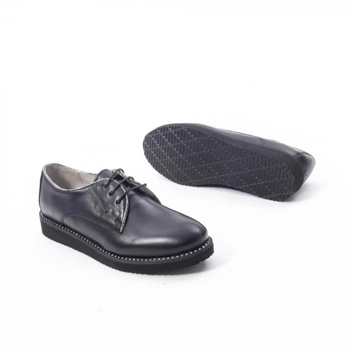 Pantofi casual dama, piele naturala Catali 171610 negru 3