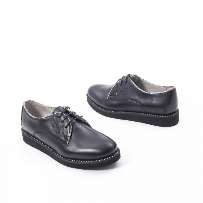 Pantofi casual dama, piele naturala Catali 171610 negru 2