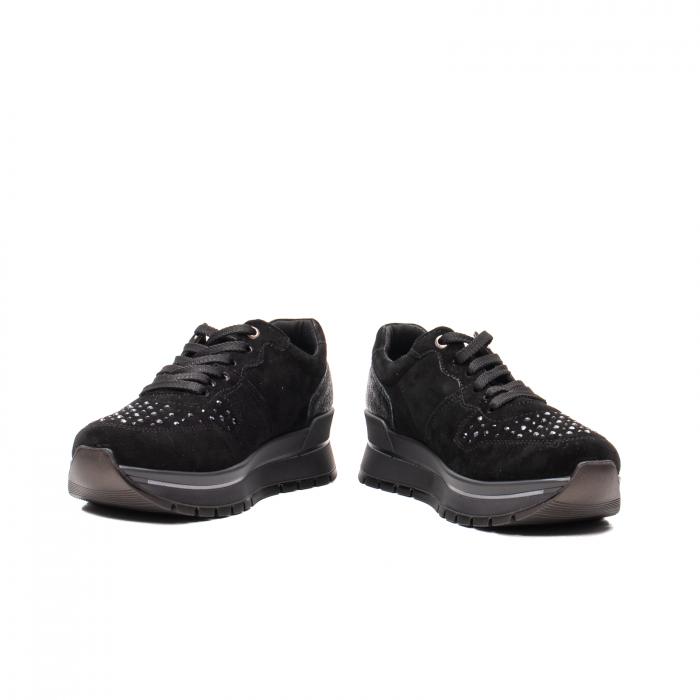 Pantofi dama casual, piele naturala intoarsa, IC608360 4