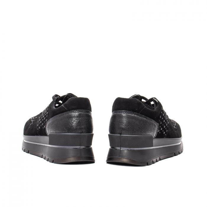 Pantofi dama casual, piele naturala intoarsa, IC608360 6