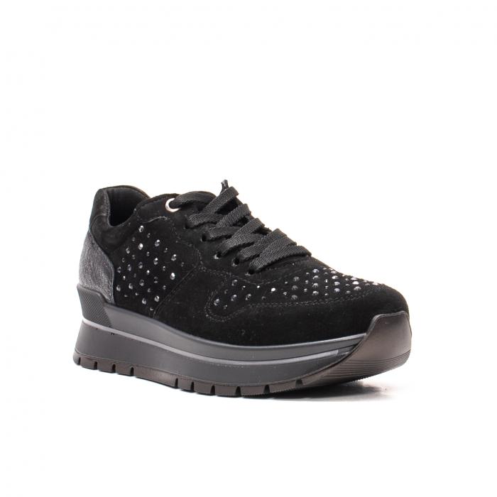 Pantofi dama casual, piele naturala intoarsa, IC608360 0