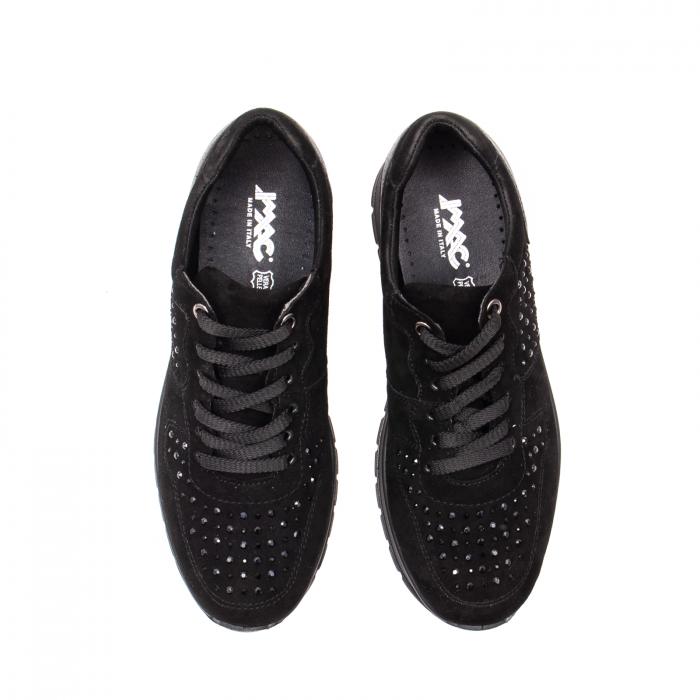 Pantofi dama casual, piele naturala intoarsa, IC608360 5