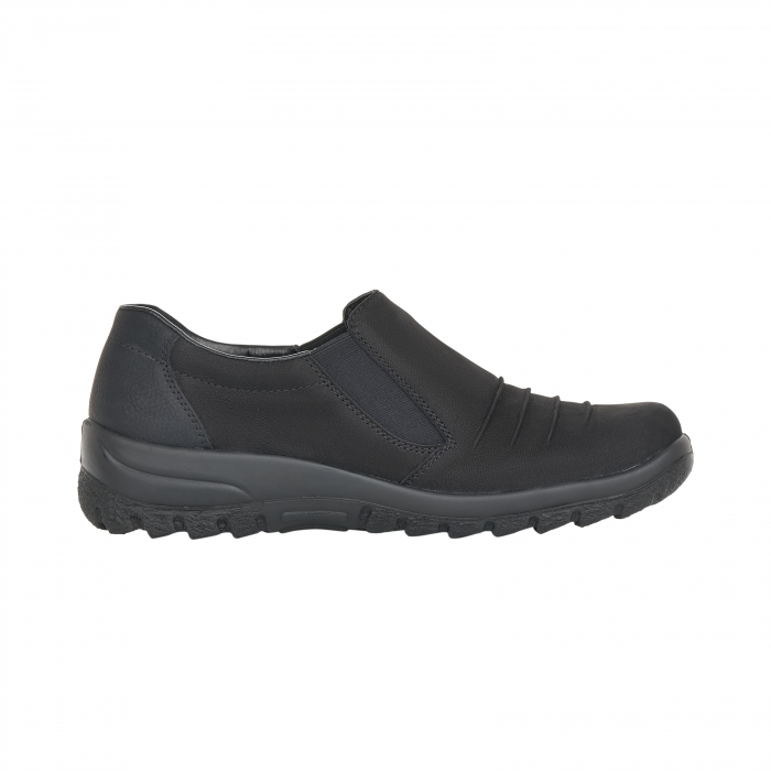 Pantofi casual dama, piele naturala nubuc, L7154-00 1