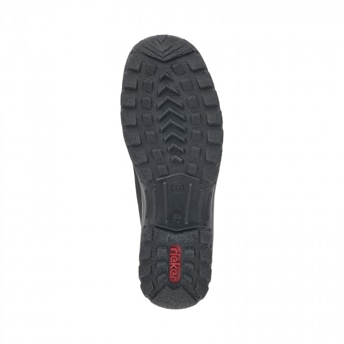 Pantofi casual dama, piele naturala nubuc, L7154-00 5
