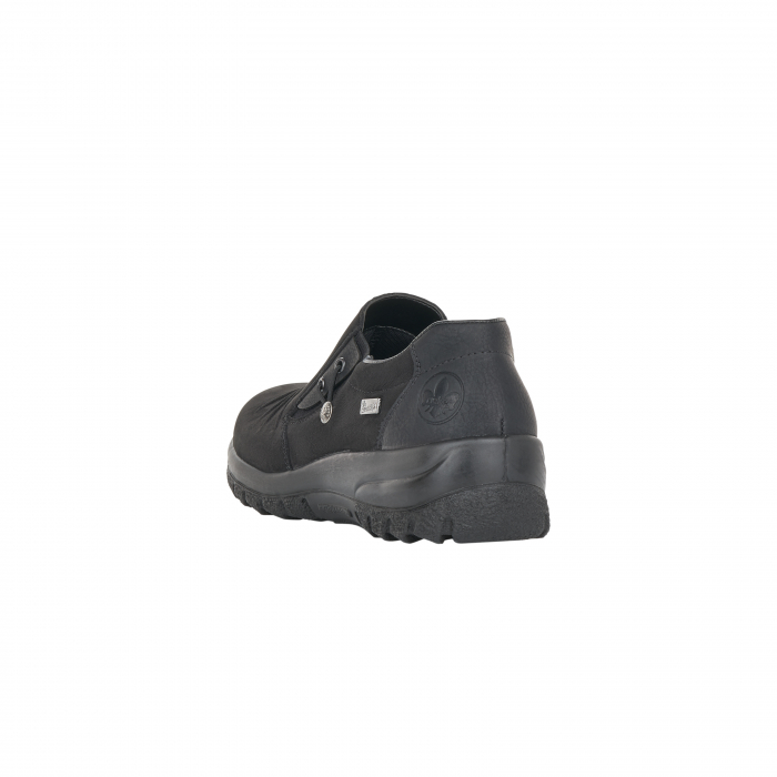 Pantofi casual dama, piele naturala nubuc, L7154-00 2
