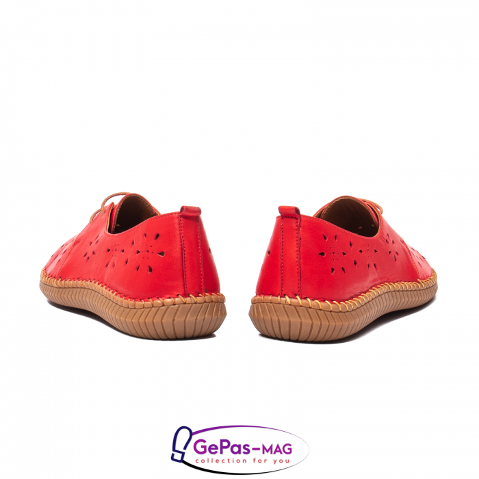 Pantofi casual dama, piele naturala, YX5235 R 6