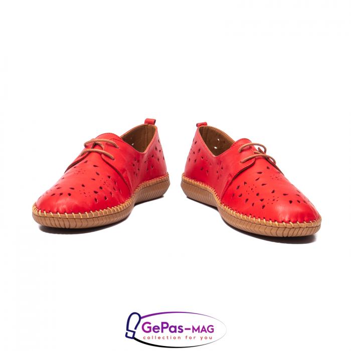 Pantofi casual dama, piele naturala, YX5235 R 4