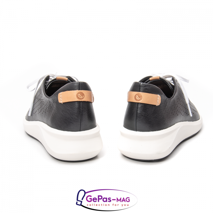 Pantofi casual dama, piele naturala Un Rio Tie CL2614 4