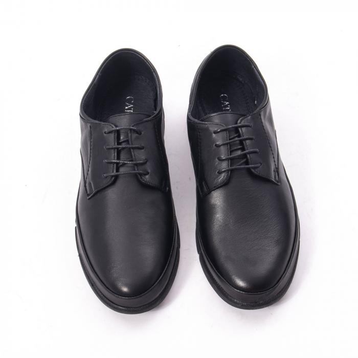 Pantofi casual de barbat din piele naturala, Catali 192550 negru 5